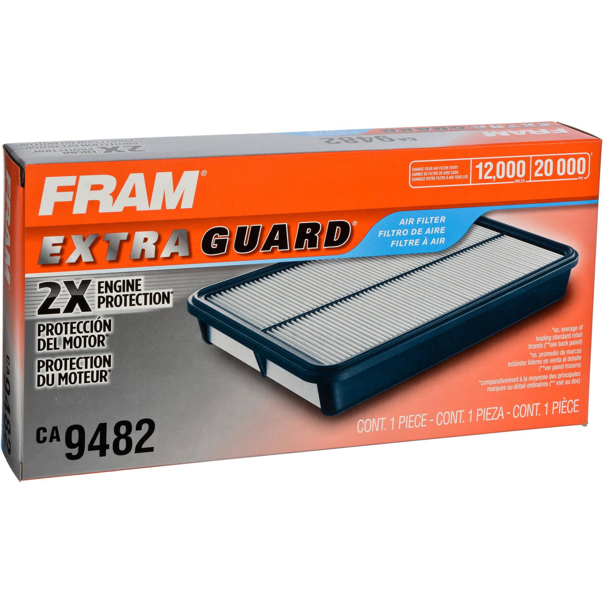Fram air filters fram extra guard air filter ca9482 nvjuhfo Gallery