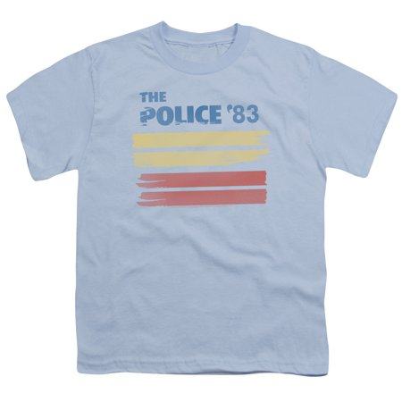 The Police - 83 - Youth Short Sleeve Shirt - Small