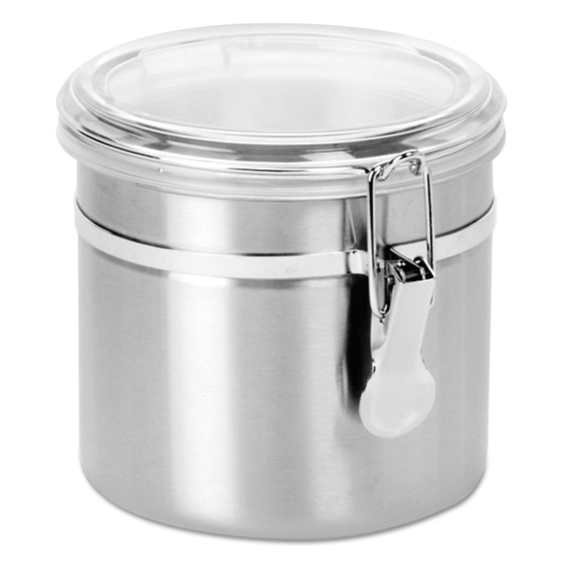 Office Settings Stainless Steel Canisters, 38 oz