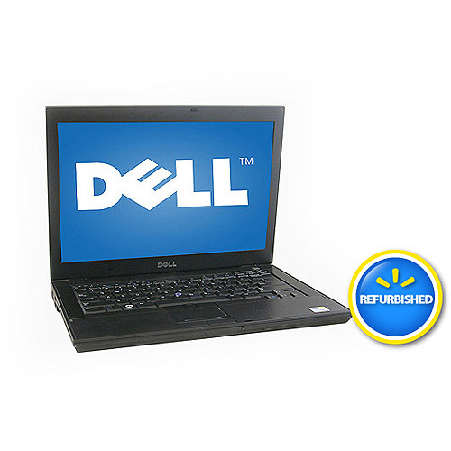"Refurbished Dell Black 14"" E6400 Laptop PC with Intel Core 2 Duo Processor and Windows 7 Professional"