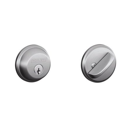 626 Deadbolt (Single Cylinder Satin Chrome Deadbolt)