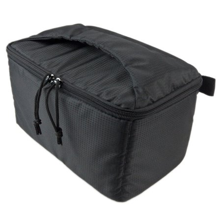 Tinymills Waterproof SLR DSLR Padded insert Case Zip-up Removable Partition Pro Camera