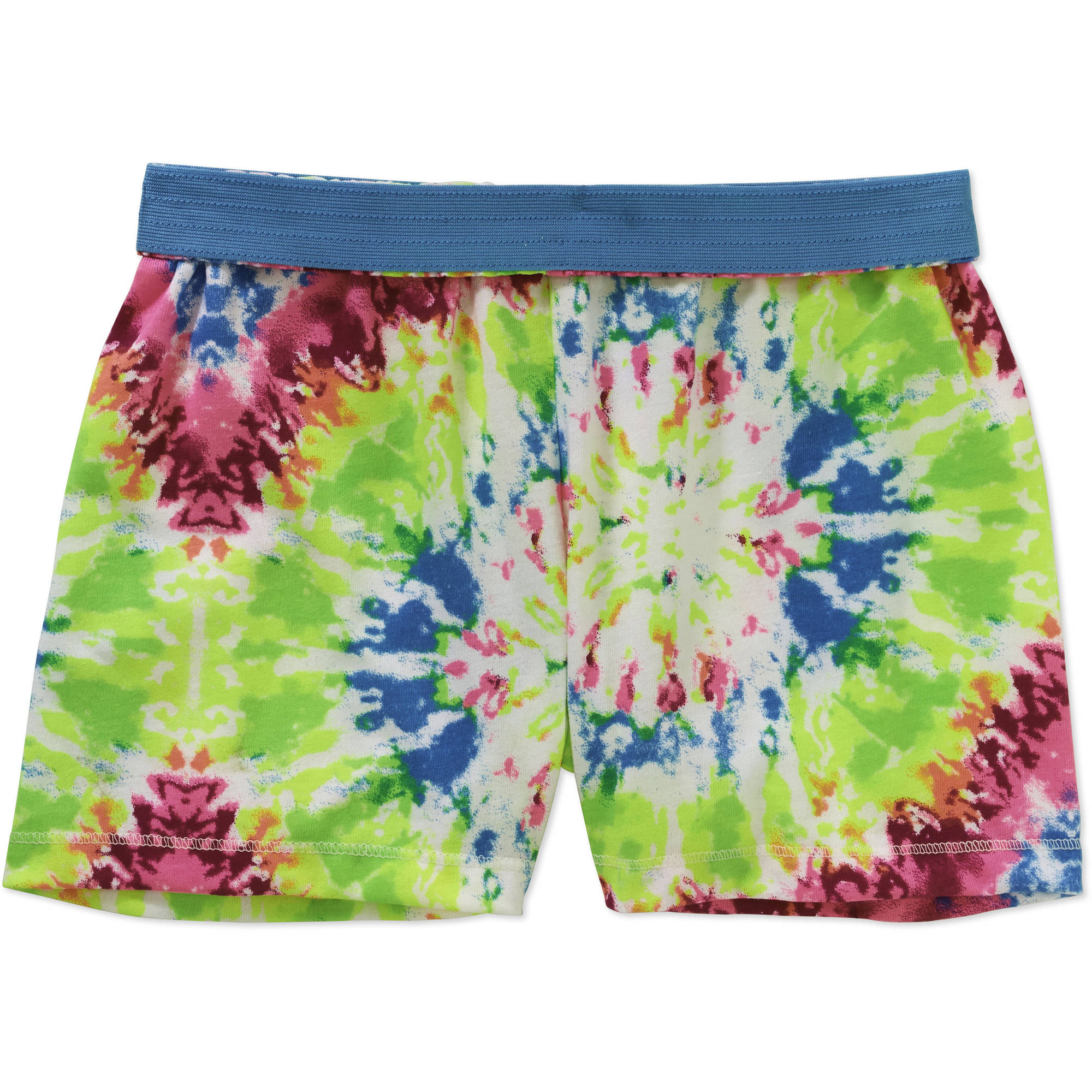 Girls' Faded Glory Print Shorts