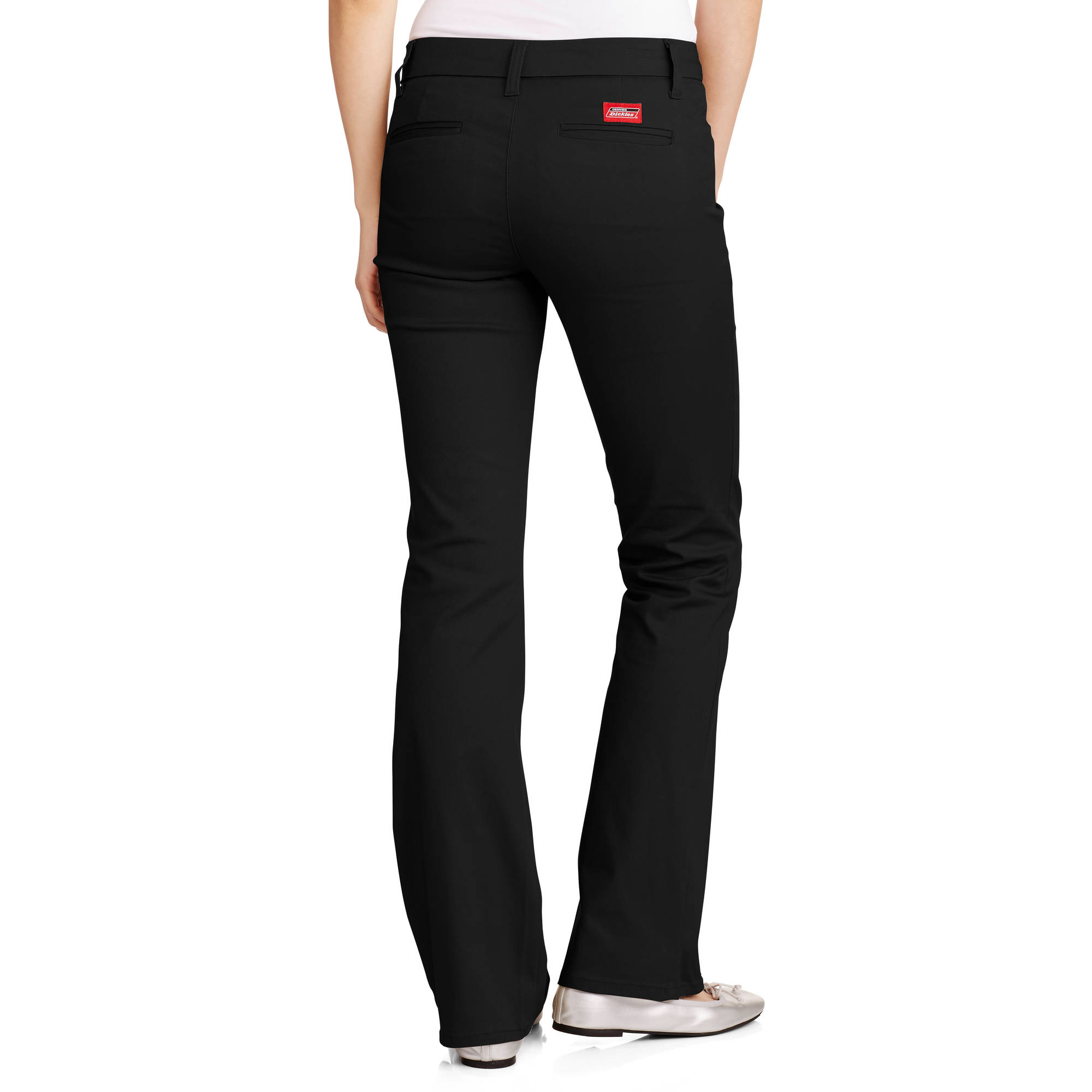Dickies Juniors' School Uniform 4 Pocket Slim Bootcut Pant ...