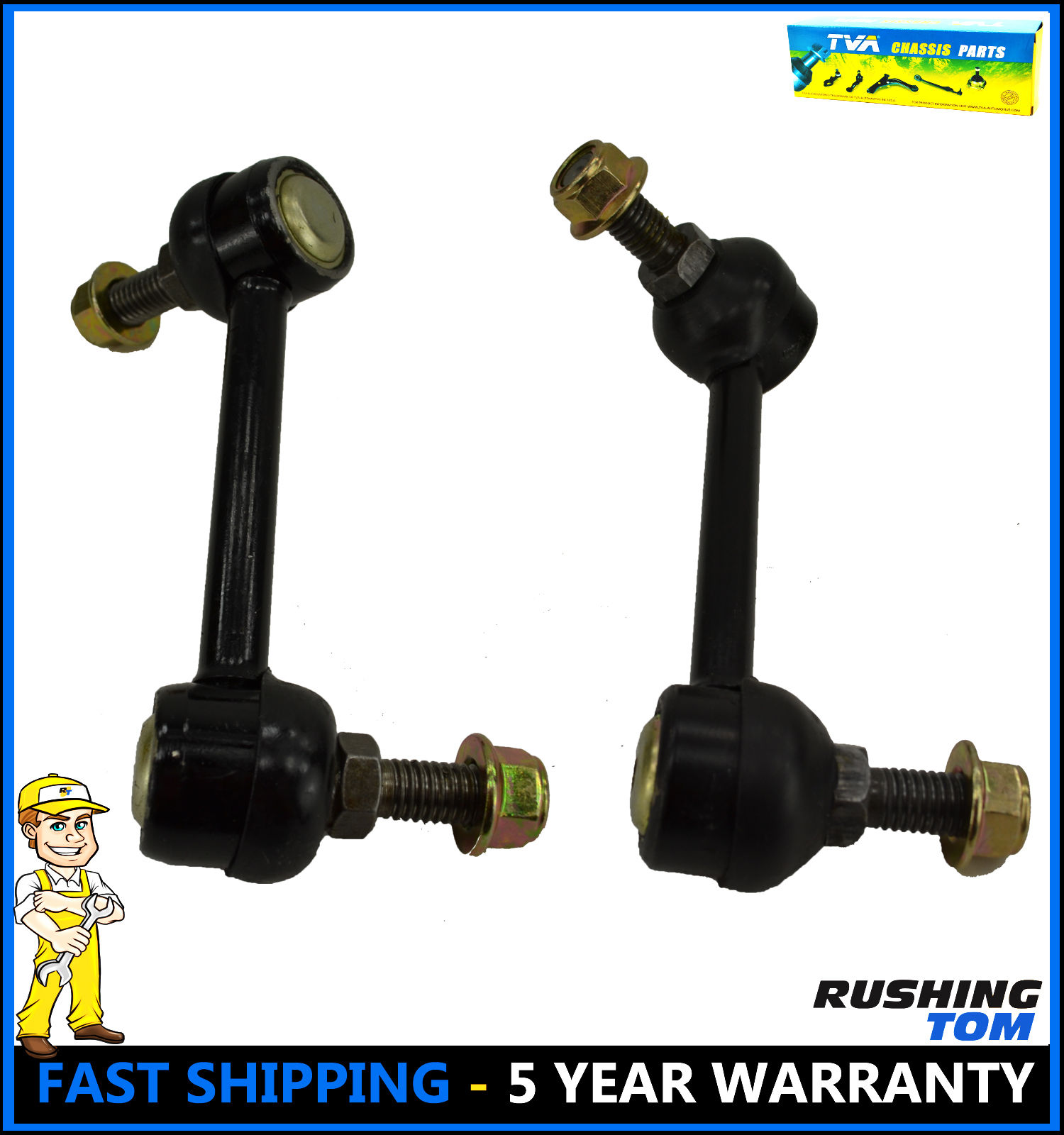 2 Rear Suspension Stabilizer Sway Bar Link For 02