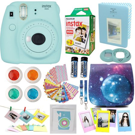 fujifilm instax mini 9 camera ice blue accessories kit for fujifilm instax mini 9 camera. Black Bedroom Furniture Sets. Home Design Ideas