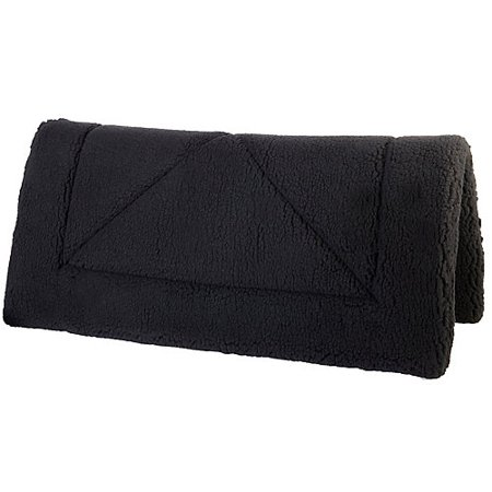 Tough-1 Western Fleece Saddle Pad Black