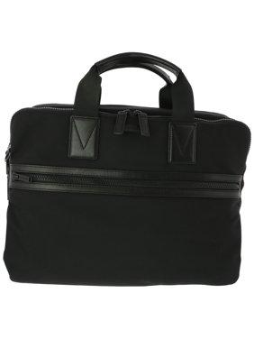 34cf33c20bb5 Product Image Michael Kors Women's Large Parker Ballistic Briefcase  Top-Handle Bag - Black