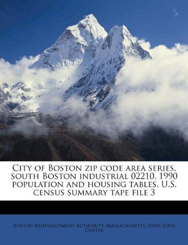 City of Boston Zip Code Area Series South Boston Industrial 02210