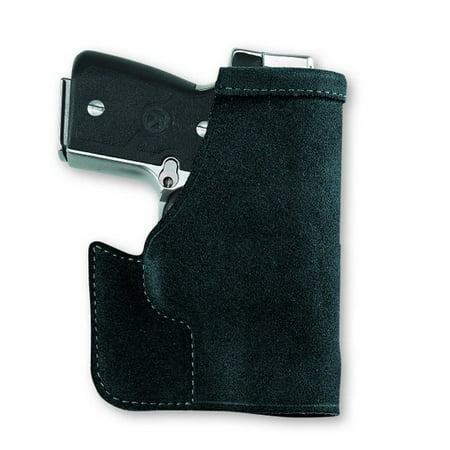 Galco PRO286B Pocket Protector Inside the Pocket Fits Glock 27 Steerhide Center Cut (Best Pocket Holster For Glock 27)