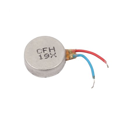 DC3V 12000RPM 2 Wires 10mmx3mm Micro Flat Button Coin Vibration Motor