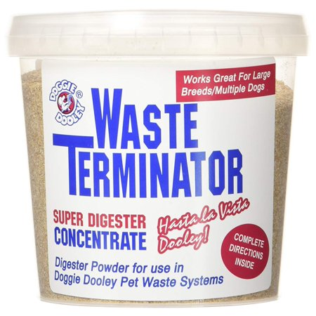 Doggie Dooley 3116 Waste Terminator, 1-Year Supply, Concentrated formula helps breakdown waste and control odors By Doggy Dooley
