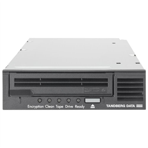 Tandberg Data 3535-LTO 2.5 6.25tb Lto6 Sas External Ext Hh Tape Drive Balck W media by Tandberg Data