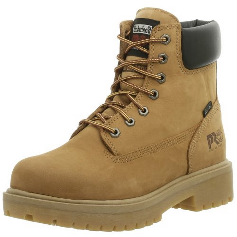Timberland Mens 6 In Direct Attach WP, Wheat Nubuck, 14 W by Timberland