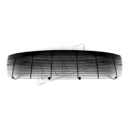 AAL BLACK BILLET GRILLE / GRILL INSERT For 2009 2010 2011 2012 DODGE Ram 1500 1pc cover all, 1PC UPPER Replacement