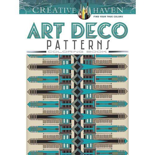 Art Deco Patterns Coloring Book