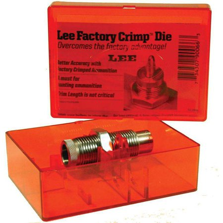 Lee 90970 Factory Crimp Rifle Die 300 Remington Ultra Magnum