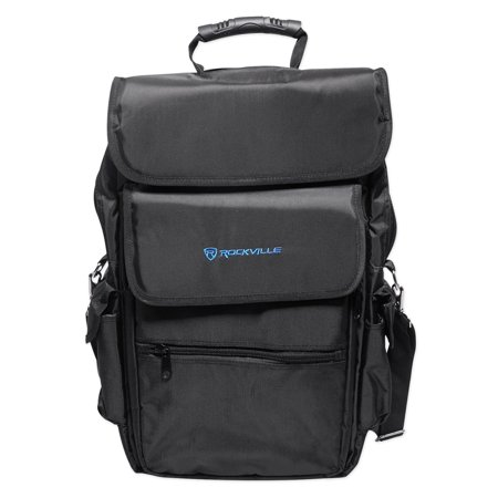 Rockville Backpack Case For Native Instruments Traktor Kontrol S4 DJ (Best Cdj For Traktor)