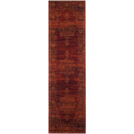 "Safavieh Serenity 5'1"" X 7'6"" Power Loomed Rug in Ruby and Gold - image 5 de 5"