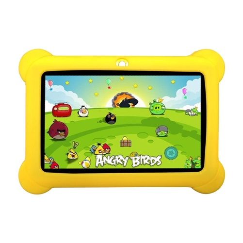 """Zeepad Kids Android 4.4 Quad Core Five Point Multi Touch 7"""" Tablet - Yellow"""