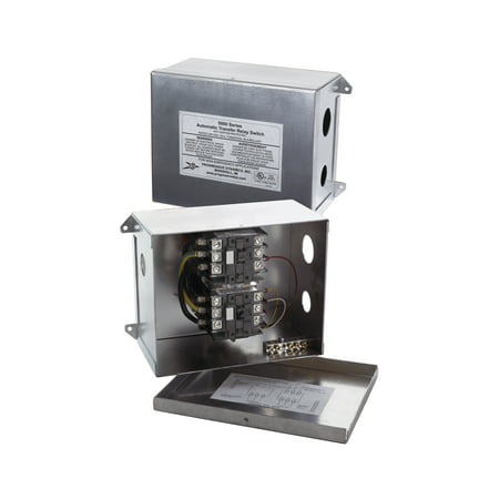 Automatic Switch - Progressive Dynamics PD5110010V 5100 Series Automatic Transfer Switch - 120 VAC, 30 Amp w/Pigtail Connection