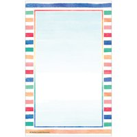 Teacher Created Resources TCR8888 Watercolor 50 Sheets Notepad