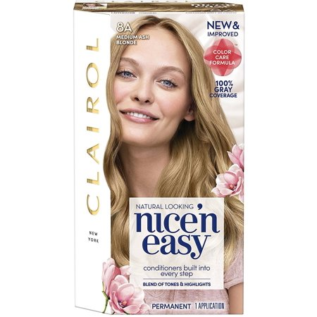 Nice 'n Easy Permanent Color, [8A] Medium Ash Blonde 1