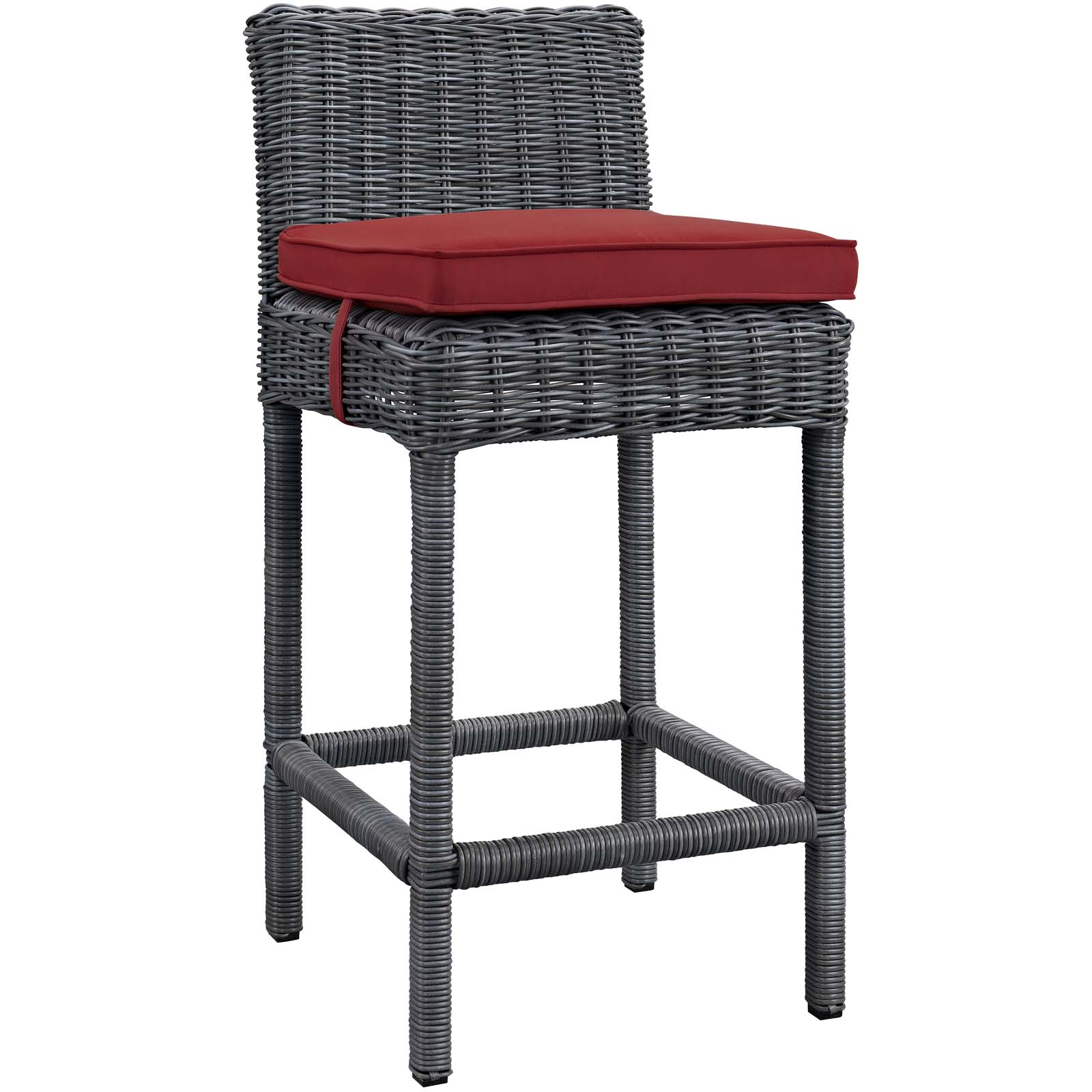 Modway Summon Outdoor Patio Sunbrella® Bar Stool, Multiple Colors