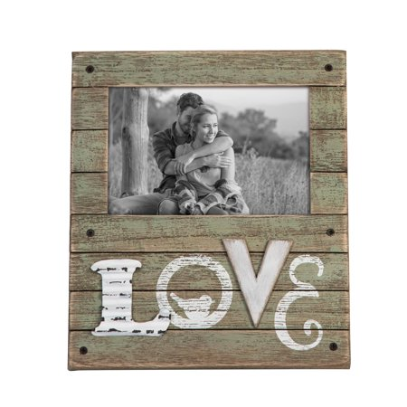Foreside Home and Garden 4X6 Love Photo Frame - Live Photo Frame