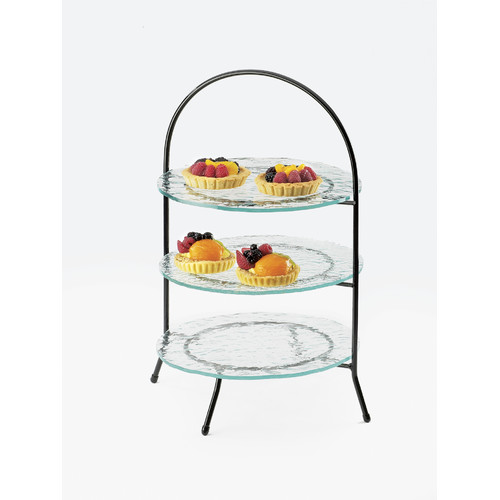 CAL-MIL 20'' Arch Iron-Frame 3 Tier Display