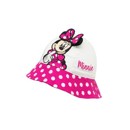 Disney - Minnie Mouse Baby Toddler Girl Bucket Hat - Walmart.com 6300f30fcbf8