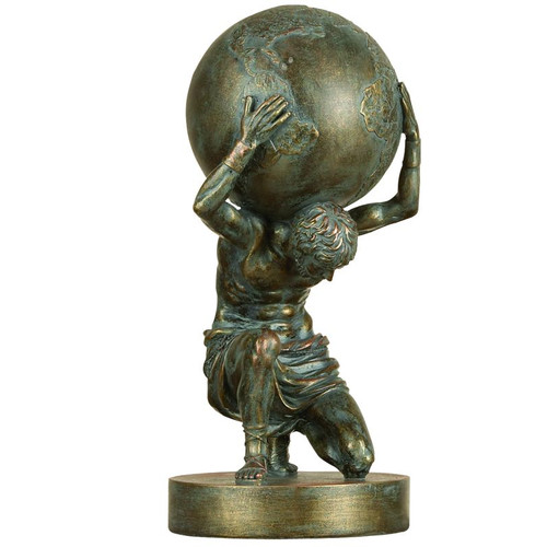 Woodland Imports 14H in. Small Atlas by DecoMode Collection