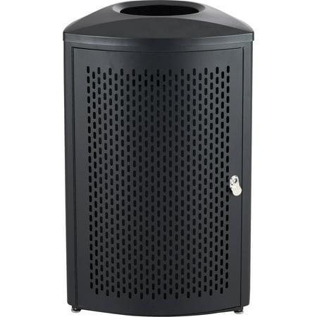 Safco, SAF9961BL, Nook Indoor Waste Receptacle, 1, Black