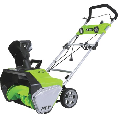 Greenworks 20-Inch 13 Amp Corded Snow Thrower With Light Kit 2600202 (Snow Blower With Light)