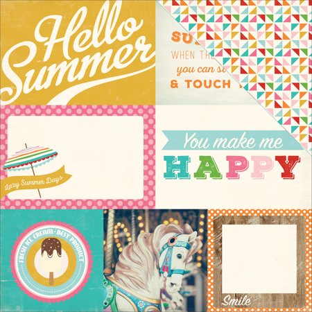 Soak Up The Sun Double Sided Cardstock 12 Inch X 12 Inch 4 Inch X
