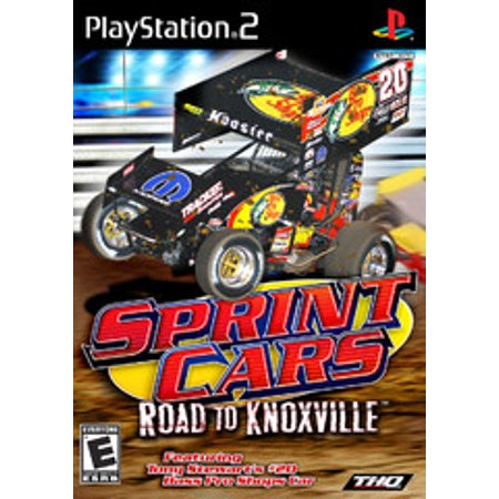 Sprint Cars Road to Knoxville - PS2 Playstation 2 (Refurbished)