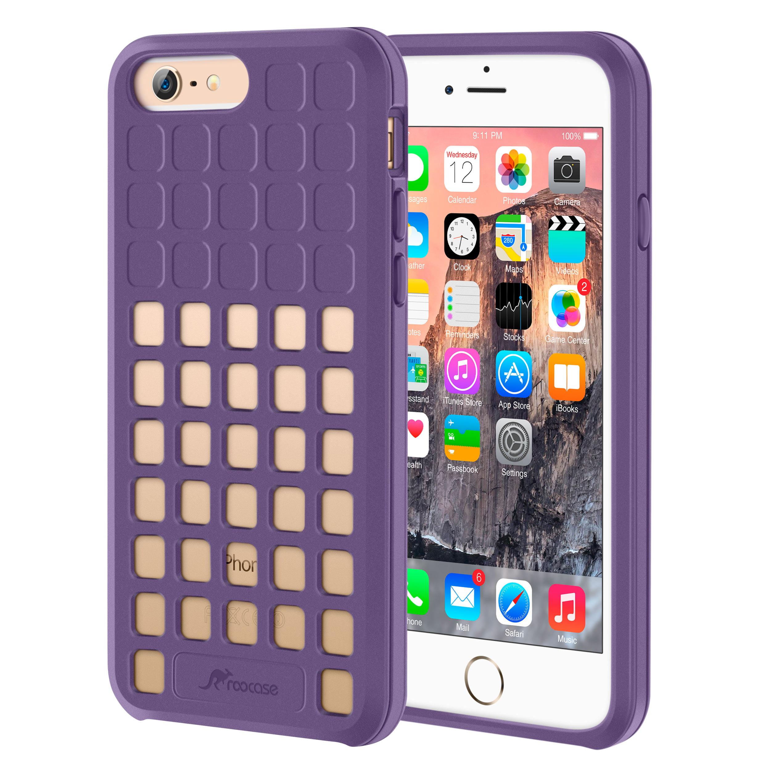 iPhone 6s Case, roocase [Shock Resistant] iPhone 6 Slim Lightweight [Quadric Series] Case Cover for Apple iPhone 6 / 6s (2015)