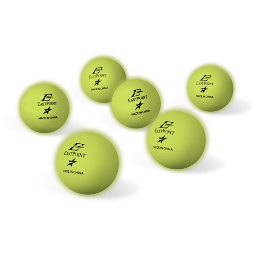 EastPoint Sports Glow In The Dark Table Tennis Balls