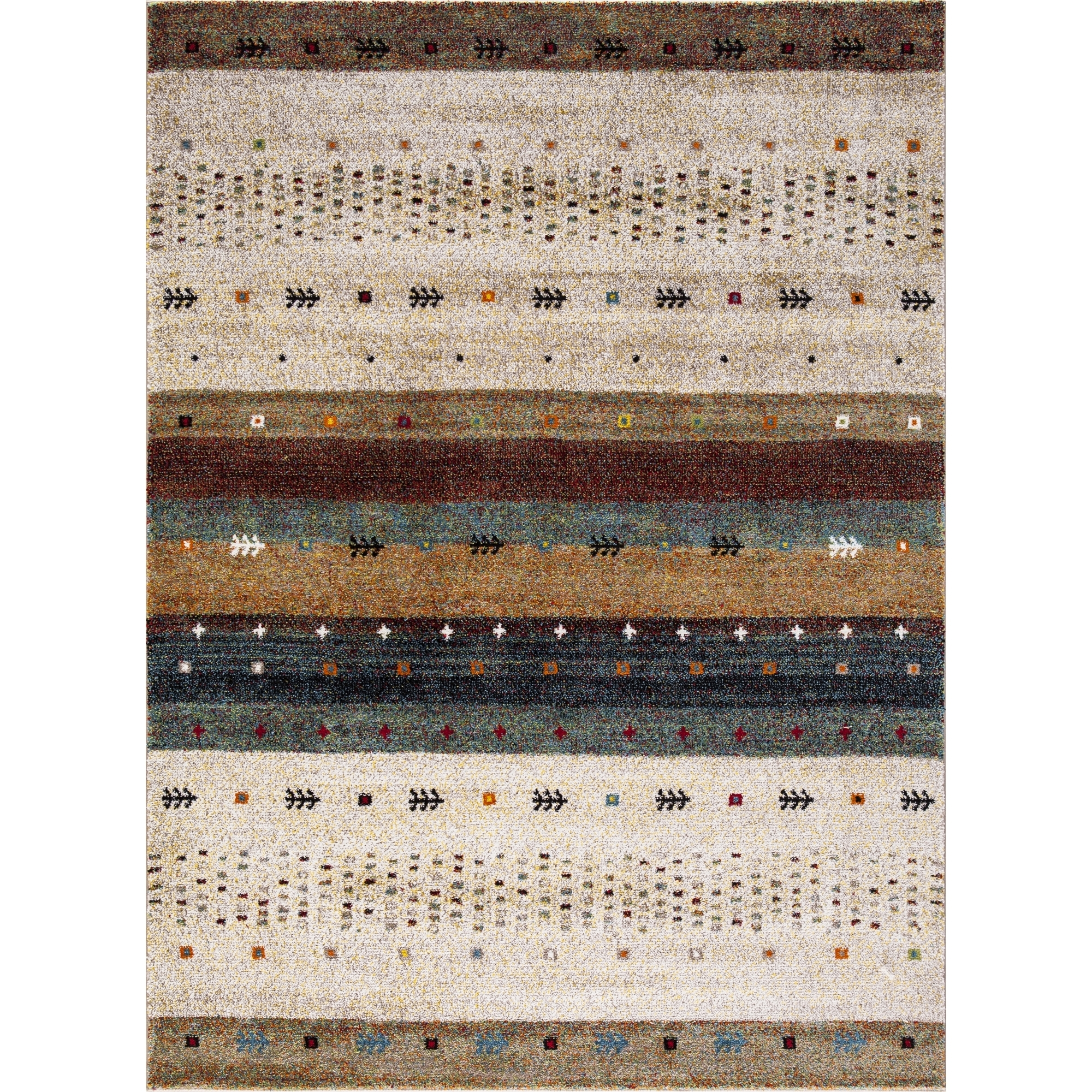 Concord Global Trading Diamond Collections Gabbeh Area Rug by Concord Global