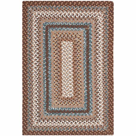 Safavieh Braided Cady Bordered Area Rug or Runner 6' Oval Outdoor Braided Runner