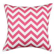 Brite Ideas Living Zig Zag Candy Pink 17 x 17 in. Pillow