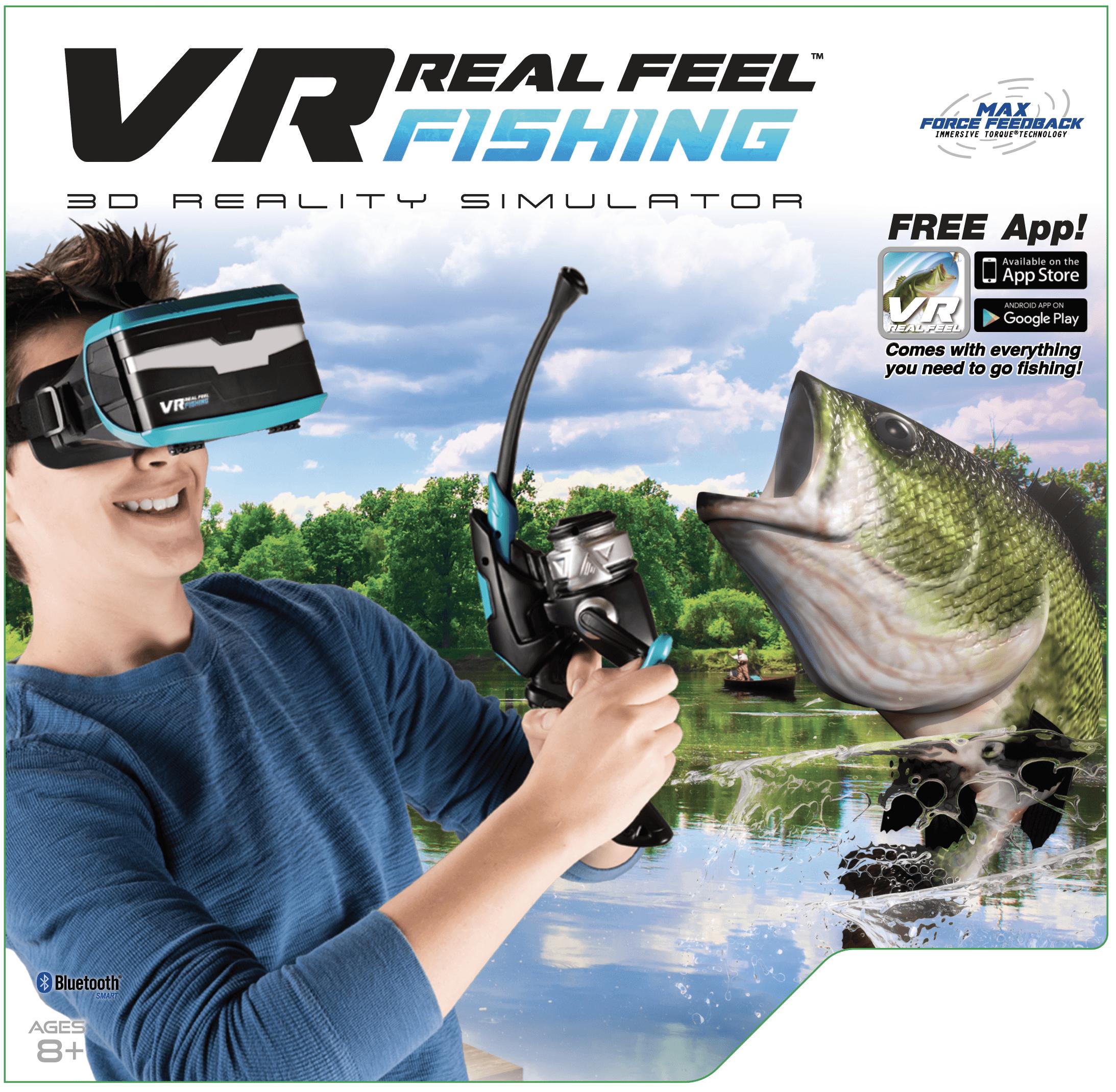 VR Real Feel Fishing W/ Headset