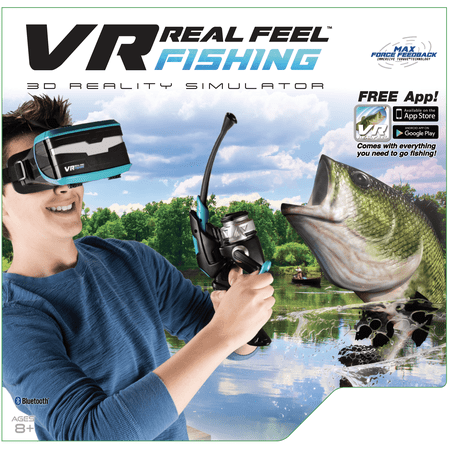 VR Real Feel Fishing W/ Headset