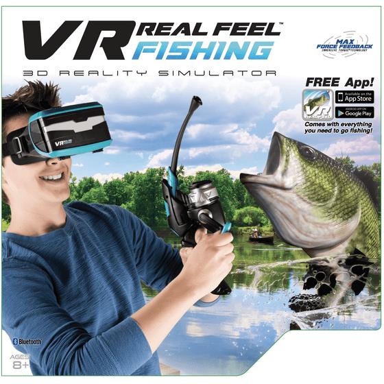 VR Real Feel Fishing W/ Headset - Walmart com
