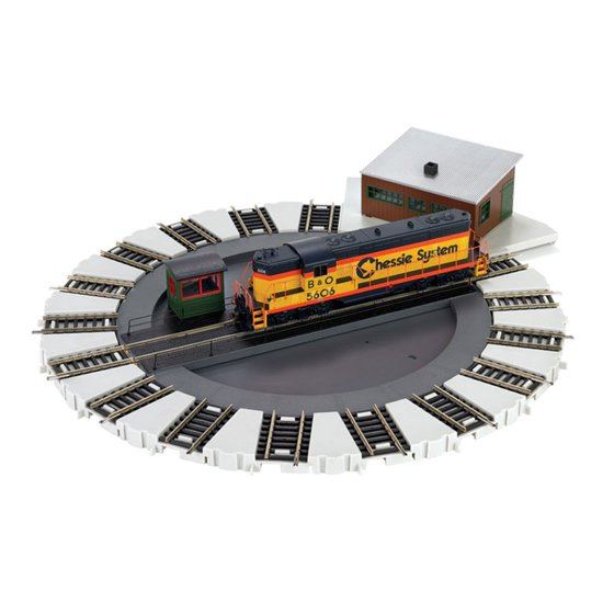 Bachmann Trains HO Scale Motorized Electric Train E-Z Track Turntable |  46299