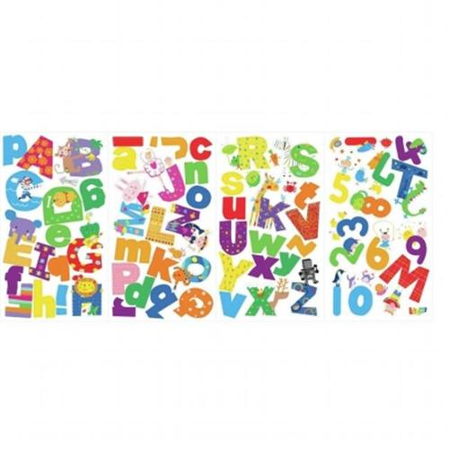 Roommates LAZ0002SCS Lazoo Alphabet Peel and Stick Wall Decals
