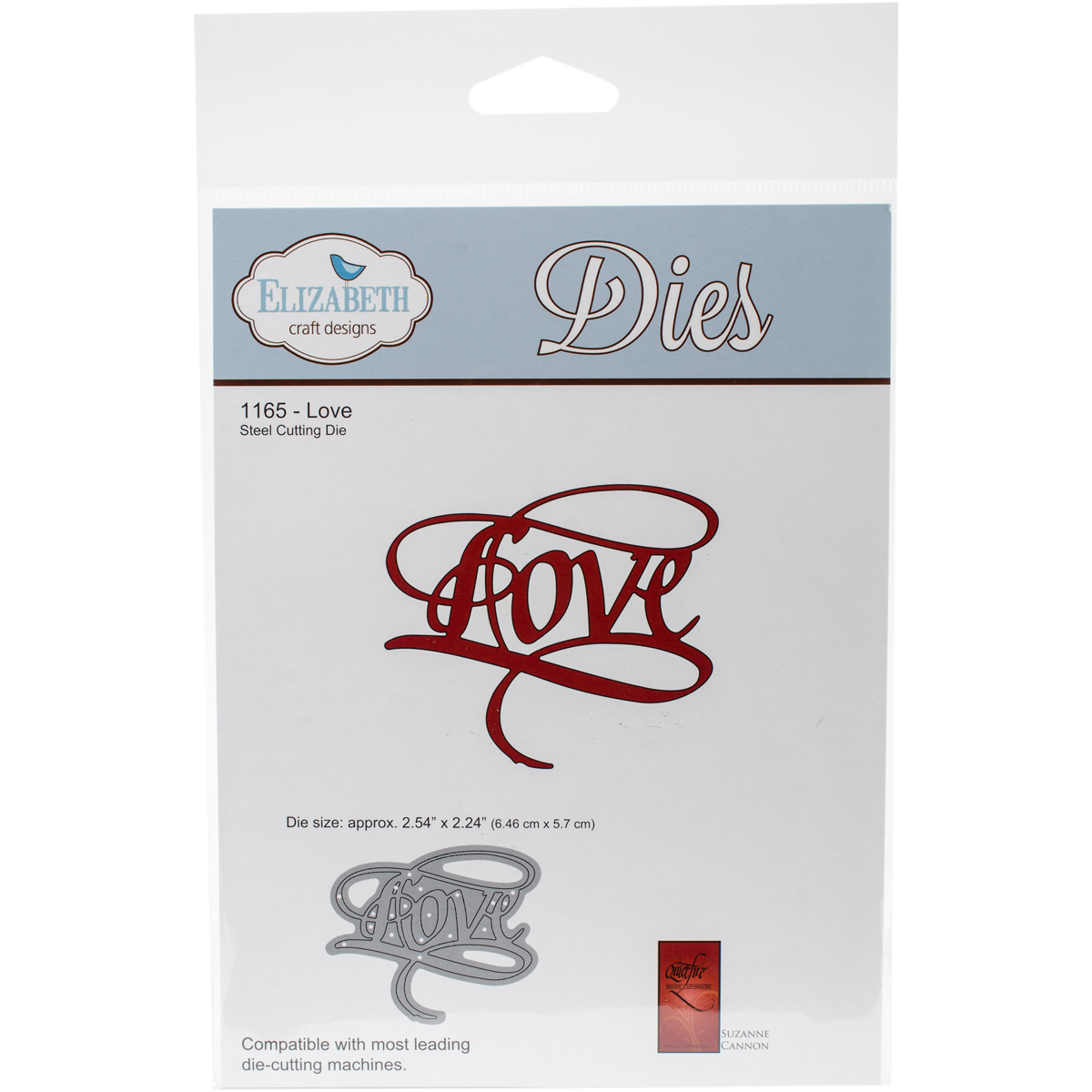 Elizabeth Craft Metal Die-Love