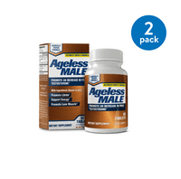 (2 Pack) Ageless Male Free Testosterone Booster Capsules, 60 Ct