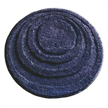 Microfiber Round Bathroom Rug - interdesign microfiber round bathroom shower accent rug, 24