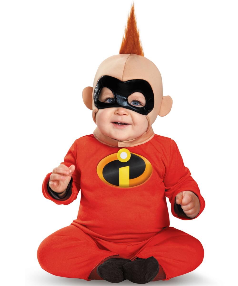 The Incredibles Baby Jack Jack Deluxe Infant Costume Walmart Com Walmart Com